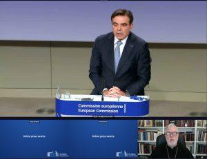 Le métropolite Athénagoras a représenté le Comité des représentants des Églises orthodoxes de l'Union européenne (CROCEU) à la réunion de haut niveau de l'UE avec les chefs religieux sur le mode de vie européen
