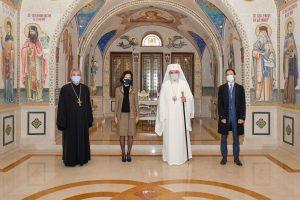 Le patriarche Daniel a reçu la nouvelle ambassadrice de France en Roumanie