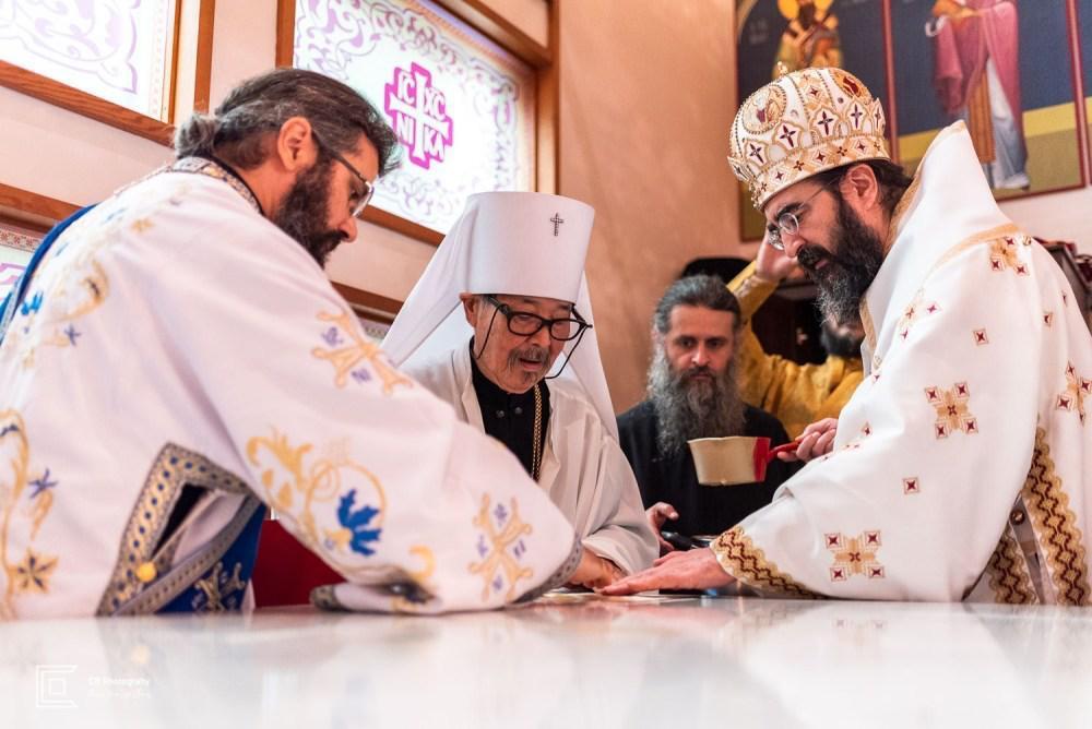 Consécration de l'église orthodoxe roumaine de Tokyo