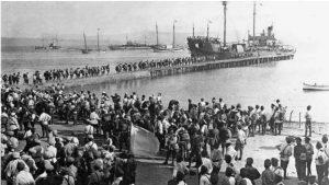 Panikhide en mémoire des morts du grand exode russe