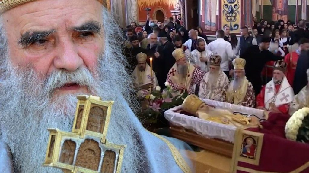 Les funérailles du métropolite du Monténégro et du Littoral Amphiloque ont eu lieu ce dimanche