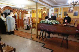 Funérailles du père André Fyrillas, et homélie du métropolite Emmanuel de France