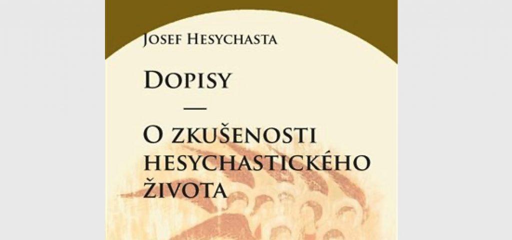 Vient de paraître en tchèque – Joseph l'Hésychaste : « Lettres spirituelles »