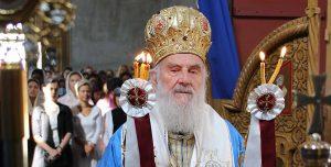 Communiqué au sujet de l'état de santé du patriarche de Serbie Irénée