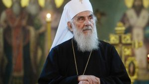 Lettre de condoléances de Mgr Jean de Doubna pour le décès du patriarche Irénée de Serbie
