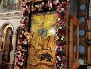 Un hiérarque de l'Église orthodoxe géorgienne a présidé la célébration de la « Guiorgoba » à l'église Saint-Georges de Moscou