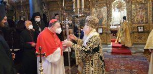 Fête de saint André et visite d'une délégation romaine au Phanar