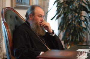 Le métropolite Antoine, chancelier de l'Église orthodoxe ukrainienne – patriarcat de Moscou : « La visite du patriarche Bartholomée à Kiev est dangereuse »