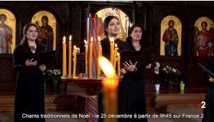 Ce matin à 9h45, l'émission spéciale Orthodoxie de France 2 « Noël 2020 »