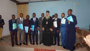 Présentation des travaux de diplôme à la Faculté orthodoxe de Kinshasa