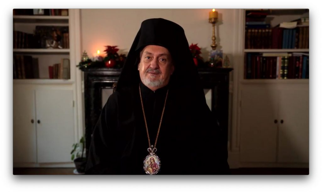 Message de Noël de Mgr Emmanuel de France, président de l'Assemblée des évêques orthodoxes de France