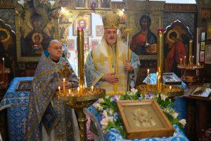 Fête de la paroisse Notre-Dame du Signe présidée par le métropolite Emmanuel