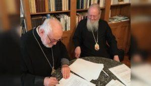 L'Église orthodoxe russe salue l'accord entre l'Archevêché des paroisses orthodoxes de tradition russe en Europe occidentale et de la métropole de France du Patriarcat de Constantinople