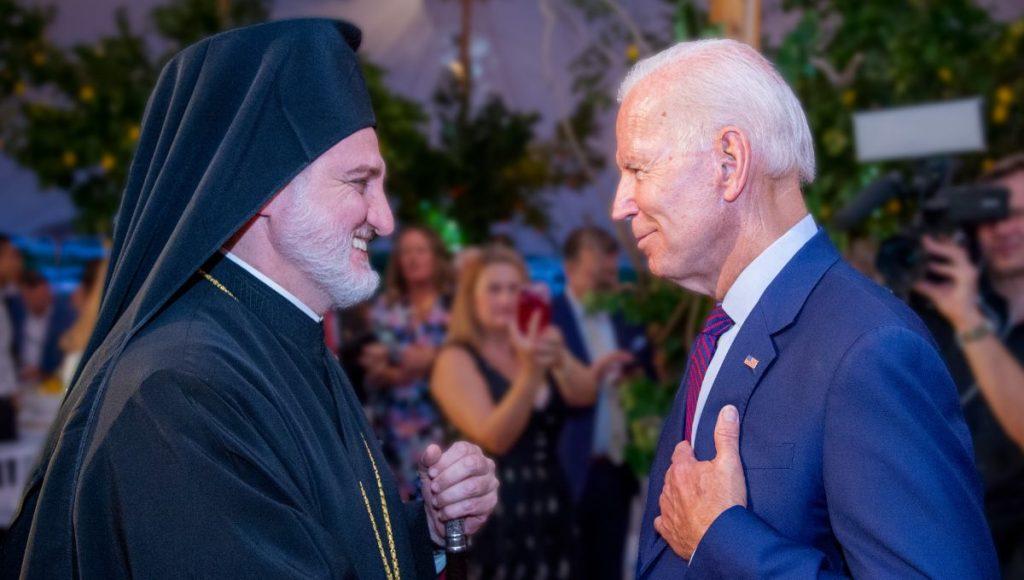 L'archevêque d'Amérique Elpidophore récitera une prière lors du service religieux de l'investiture présidentielle américaine