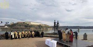 79e anniversaire du « raid » de Novi Sad (Serbie)