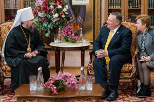 Mike Pompeo : « J'ai veillé à ce que les États-Unis soutiennent la reconnaissance de l'Église orthodoxe d'Ukraine »