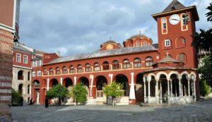 Transmission audio des vigiles de la Nativité depuis le monastère de Vatopédi le 6 janvier