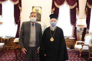 Le patriarche Bartholomée a reçu le conseiller spécial de l'UNESCO