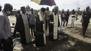 Pose de la première pierre d'un nouveau centre missionnaire en République démocratique du Congo