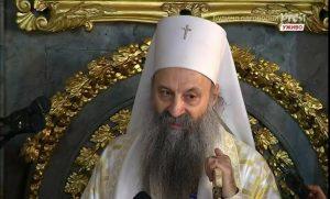 Première homélie du nouveau patriarche Porphyre de Serbie