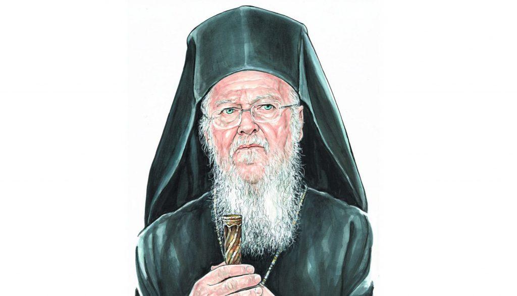 Interview de Sa Toute-Sainteté le patriarche œcuménique Bartholomée avec la journaliste Maria Antoniadou du journal « To Vima »