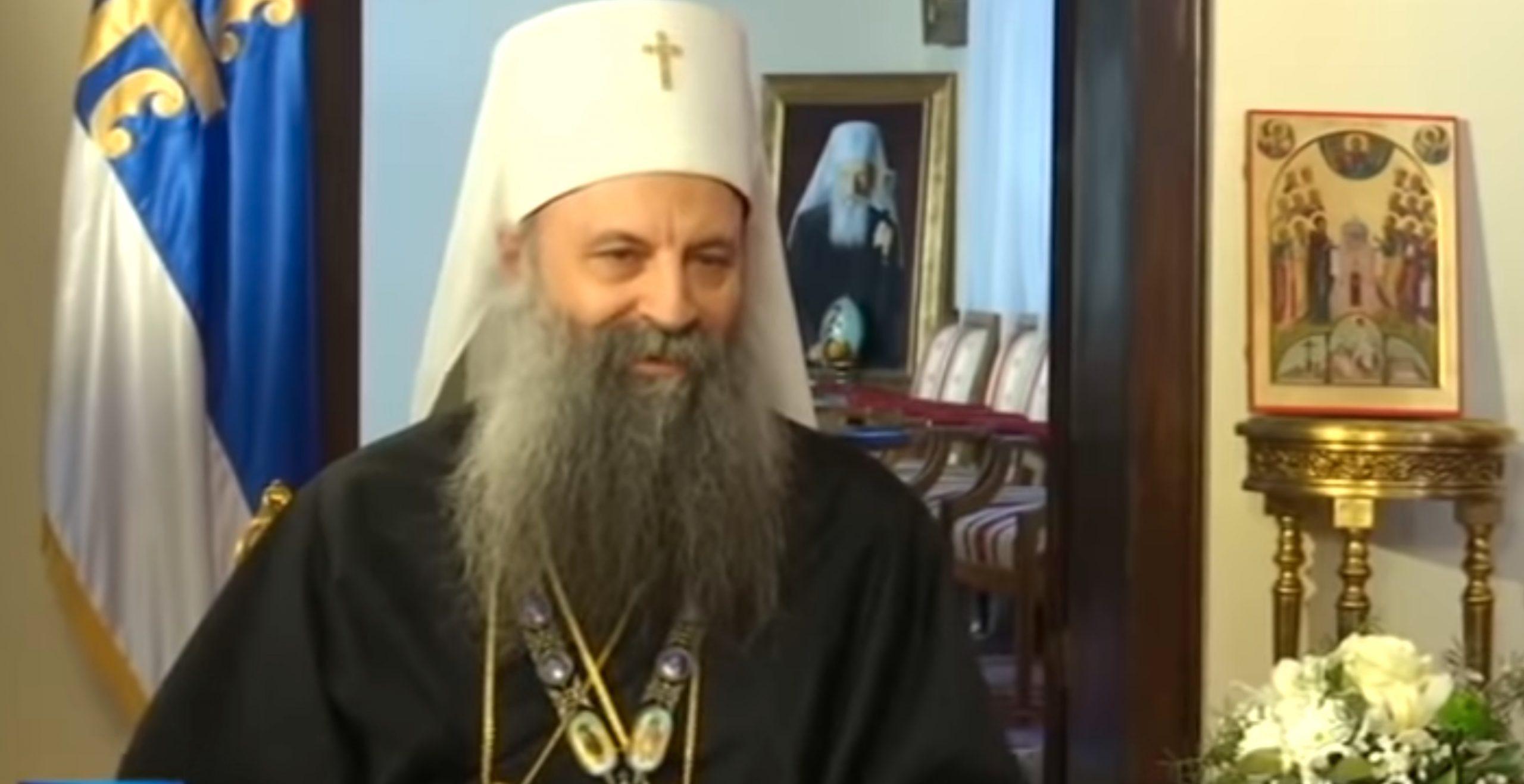 Le patriarche Porphyre : « Pour nous, le Kosovo n'est pas seulement une question géopolitique, mais c'est aussi une question d'identité »