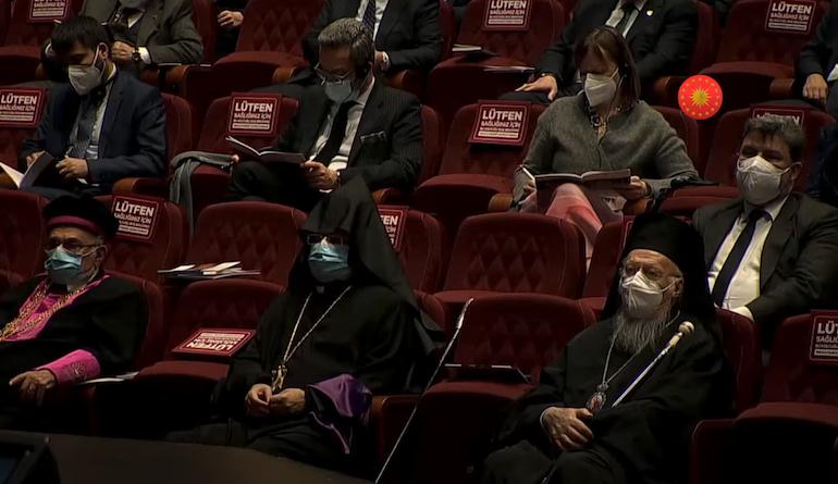 Le patriarche œcuménique Bartholomée s'est rendu à Ankara