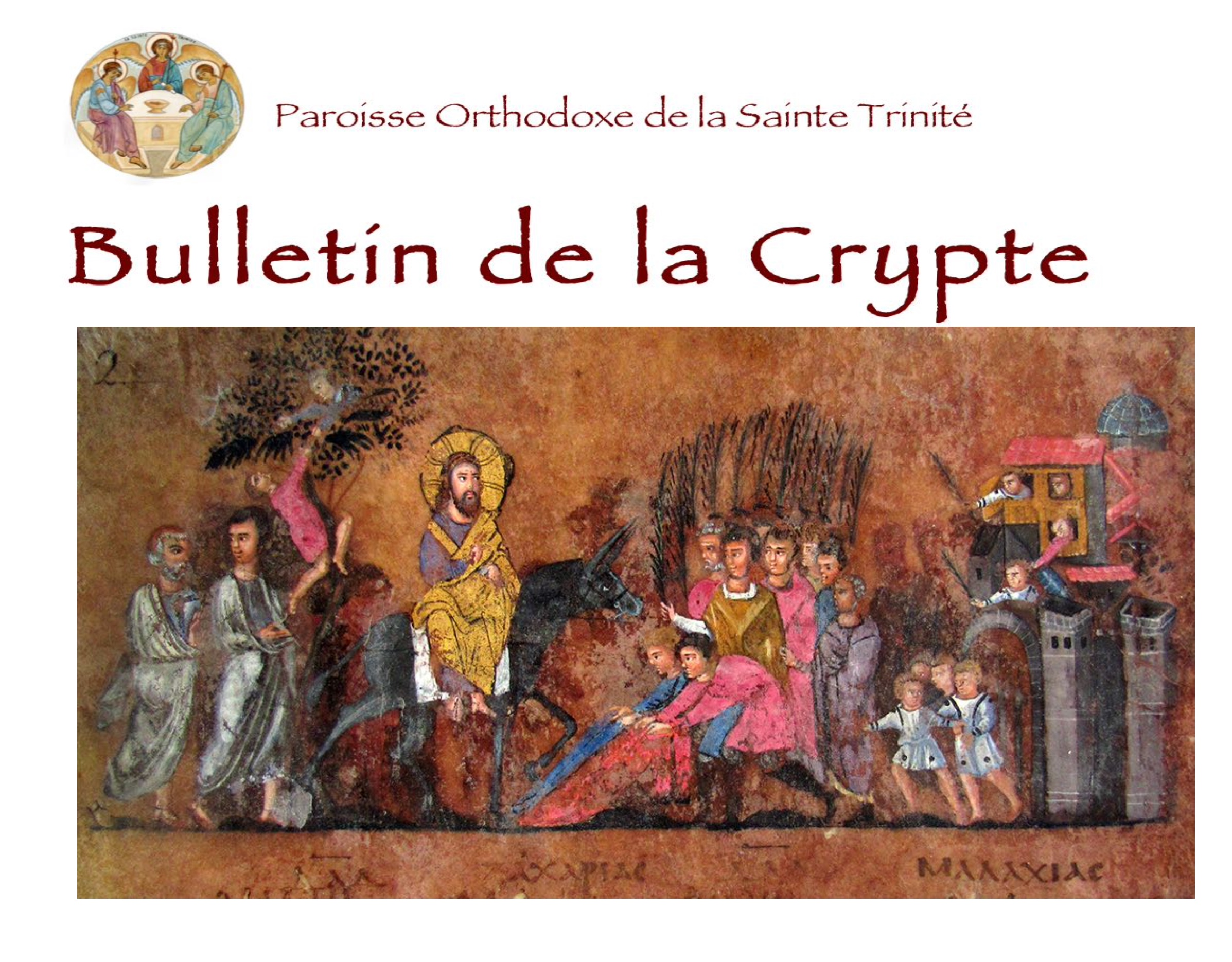 Bulletin de la Crypte – Carême 2021