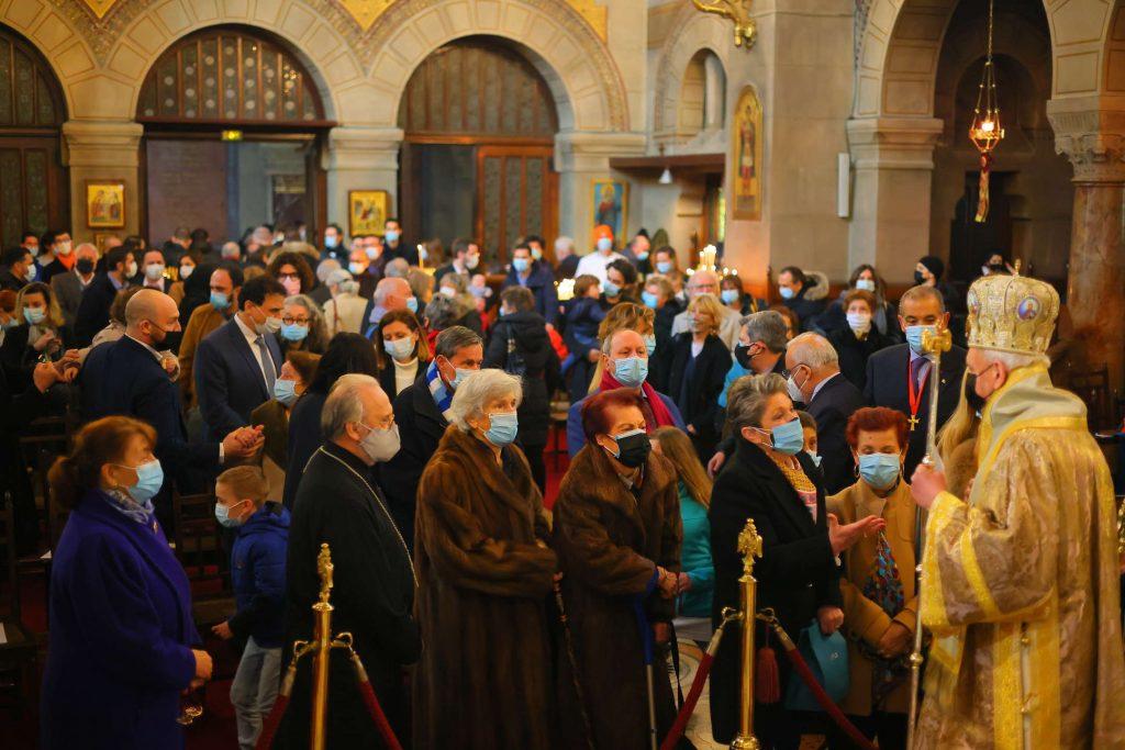 Mgr Emmanuel, métropolite de Chalcédoine à Paris
