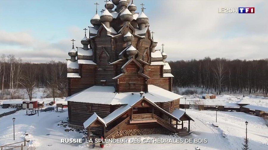 Reportage : «La splendeur des cathédrales de bois en Russie»