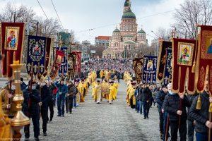 Le Dimanche de l'orthodoxie, des processions ont eu lieu dans plusieurs diocèses de l'Église orthodoxe ukrainienne