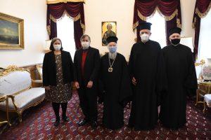 L'ambassadeur des États-Unis à Ankara a rendu visite au patriarche Bartholomée