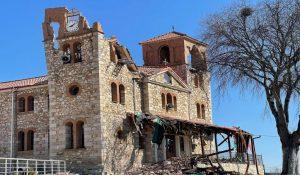 Deux églises ont été fortement endommagées par un séisme en Grèce centrale