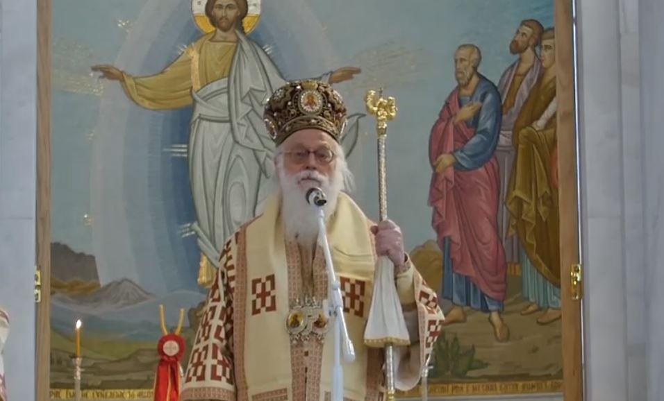 L'archevêque de Tirana Anastase : « La grandeur n'est pas dans le nombre de ceux que tu opprimes, mais dans celui de ceux que tu sers »