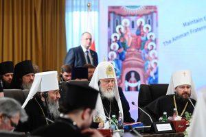 Le patriarche Cyrille a participé à la rencontre de primats et de délégations des Églises orthodoxes locales à Amman