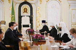 Le patriarche de Moscou Cyrille a rencontré le ministre serbe des Affaires étrangères