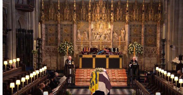 Un chant orthodoxe interprété lors des funérailles du prince Philippe, duc d'Édimbourg