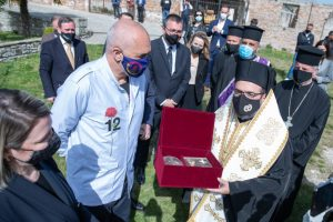 Un fragment des reliques de saint Jean-Vladimir a été restitué à l'Église orthodoxe d'Albanie