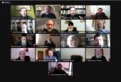 La Commission du droit canon de la Conférence inter-concilaire de l'Église orthodoxe russe s'est tenue en ligne