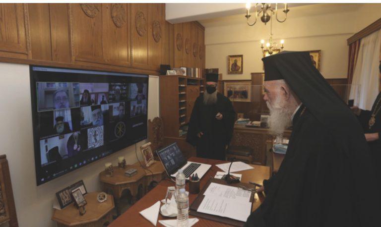 Le Saint-Synode de l'Église orthodoxe de Grèce a formulé ses propositions au gouvernement hellénique au sujet de la célébration des fêtes de Pâques