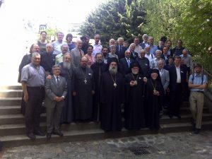 Visite du métropolite Théodose de Sébaste (Patriarcat de Jérusalem) à l'Institut Saint-Serge