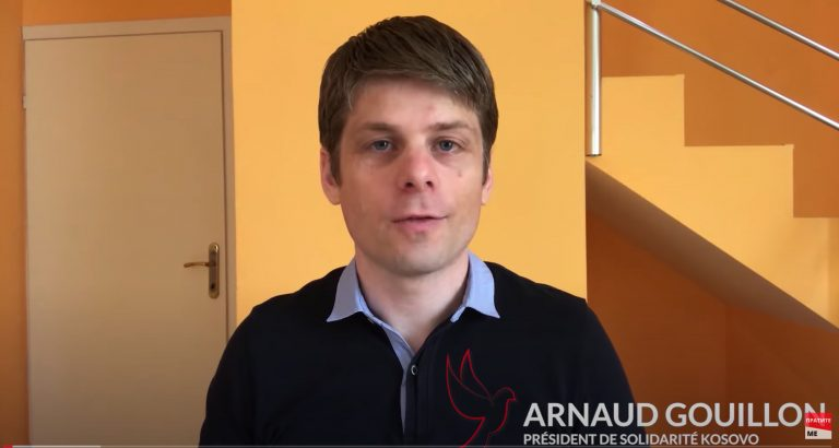 Arnaud Gouillon, président de « Solidarité Kosovo », évoque la crise du Covid-19 et les nouvelles violences anti-serbes au Kosovo