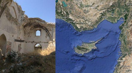 Dans la partie occupée de Chypre, plus de 500 églises et monastères ont été pillés, détruits, vandalisés ou convertis