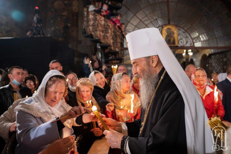 L'office de Pâques à la Laure des Grottes de Kiev (vidéo)