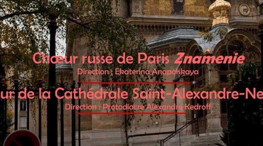 Concert de chants orthodoxes russe à Paris