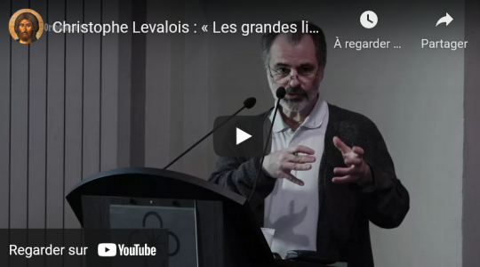 Voir ou revoir nos vidéos : « Les grandes lignes de l'histoire de l'orthodoxie en France » par Christophe Levalois