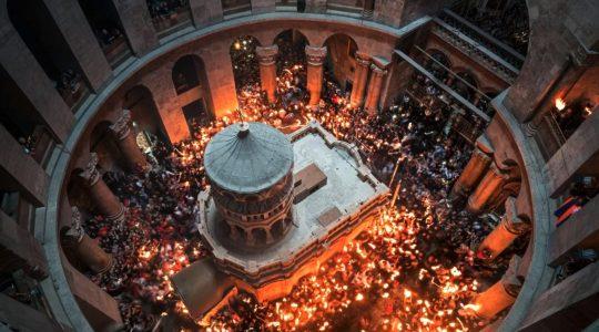 Sur le Web : «Des analyses révèlent que le tombeau de Jésus a au moins 1 700 ans»