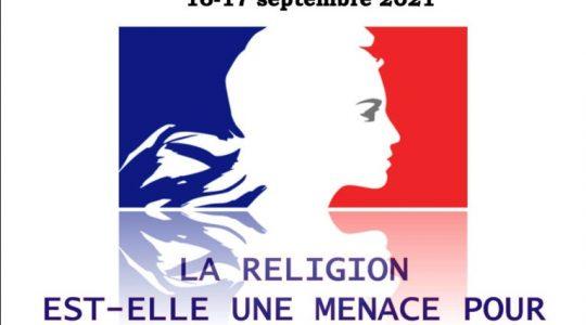 Université de rentrée de l'Institut Saint-Serge : «La religion est-elle une menace pour le vivre-ensemble ?»