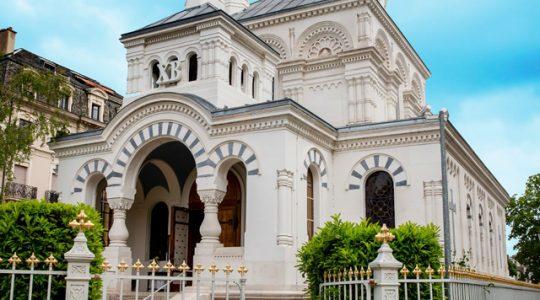 «L'église orthodoxe russe de Genève»