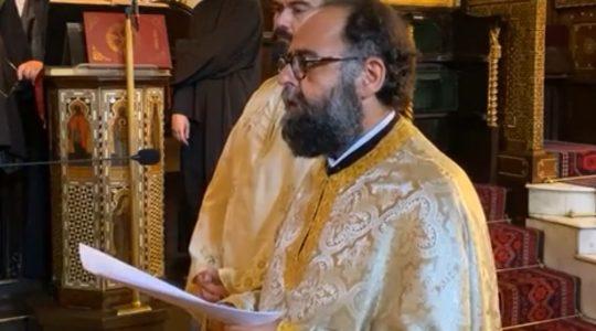 La cérémonie d'intronisation du nouveau métropolite de France du Patriarcat oecuménique de Constantinople, Mgr Dimitrios
